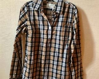 $50 Trovata cotton plaid shirt. Size S
