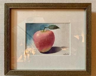 "Original Watercolor by Clint Bradley $45 each; 10.5"" x 13"" framed"