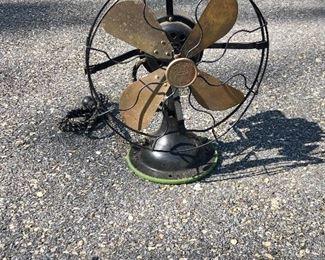 $50 Vintage Sears Roebuck Company Coldwave metal fan