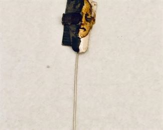 """$40; Hand crafted stick pin; approx 4"""" long"""