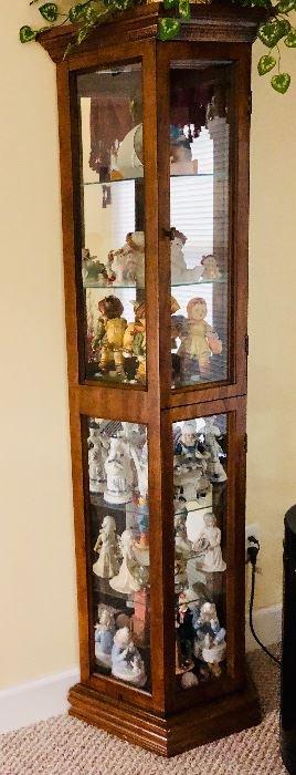 Curio  cabinet and smalls