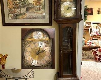 Emperor Grandfather clock Western Germany
