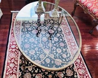 RUG SOLD / TABLE AVAILABLE