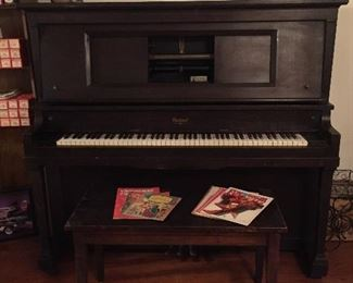 Beautiful Player Piano  - By Packard.