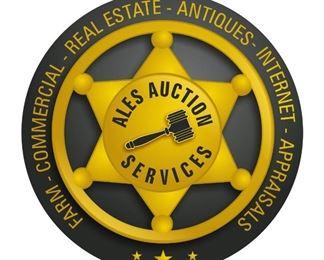 Ales Auction Logo