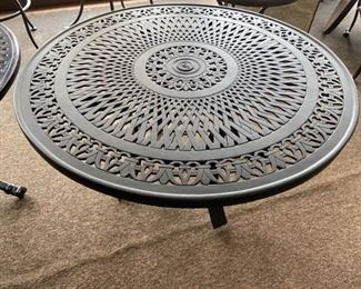 Bronze Chat Table