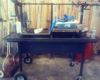 handmade grill/cooker