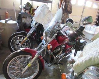 Suzuki Motor Bike low mileage