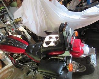Another view of Suzuki bike