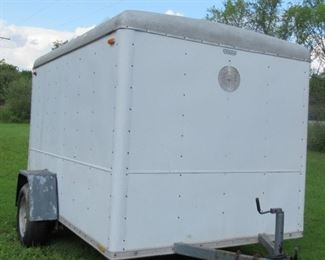 Well Fargo Trailer purchased by us when we were doing Antique shows.