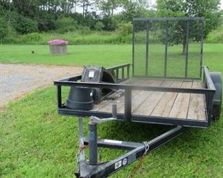 Open Trailer in good condition.