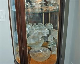 Rene Lalique  Collection + Display Case