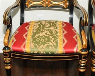 1  OF 6 MATCHING ARM CHAIRS