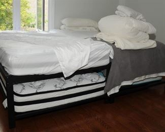 SET OF TWIN TRUNDLE BEDS