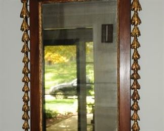 VINTAGE AMERICANA WALL MIRROR WITH AMERICAN EAGEL