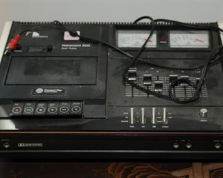 High End ~ Nakkamichi 500  ~ dual - tracer cassette recorder