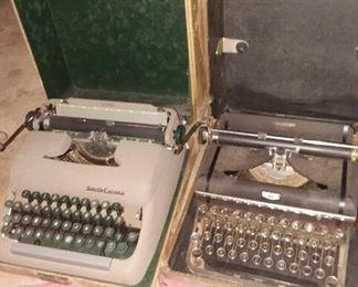 vintage twpewriters