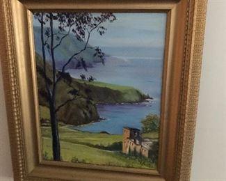Beautifully framed artwork