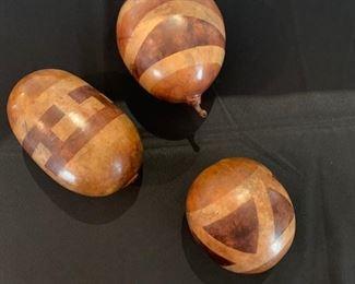 3 Decorative Gourds  61/2 H tallest