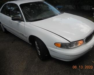 2000 Buick Century only 70736 miles. Garage Kept. Needs a cleaning, A/C Charge. New Battery. Asking $1,800