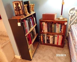 bookcases & books