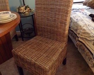 4 of these wicker chairs