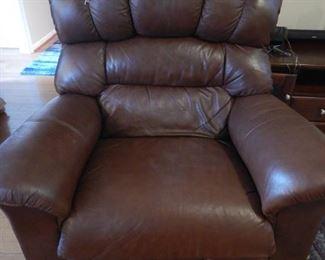 .La-Z-Boy leather recliner