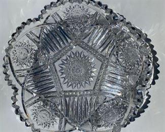 Turn of the Century crystal dish.