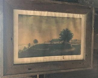 TOns of Antique Frames and Lithographs