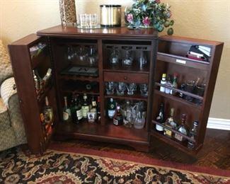 Howard Miller Bar/Wine Cabinet