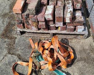 bricks and building materials