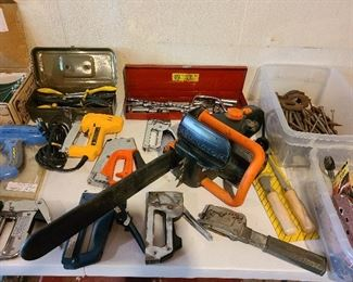 Remington chainsaw and power tools