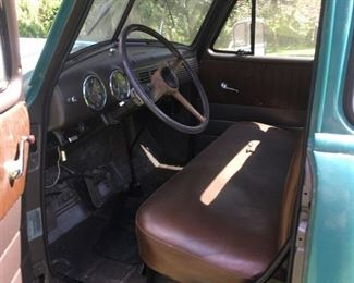 truck interior drivers side