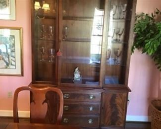 Hickory Chair China Cabinet