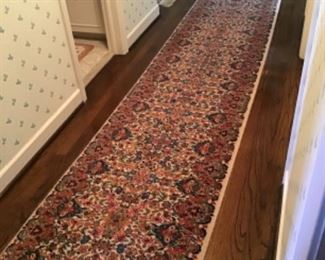 Karastan Kirman Runner (1 of 2) 12' x 2'6""