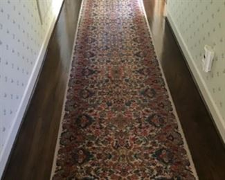 Karastan Kirman Runner (2 of 2) 12' x 2'6""