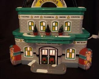 005 The Original Snow Village Rockabilly RecordsRetired