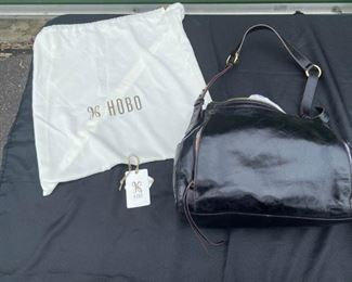 003 Hobo Dark Brown Leather Handbag