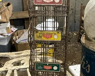 country store bubble gum rack (old brands)
