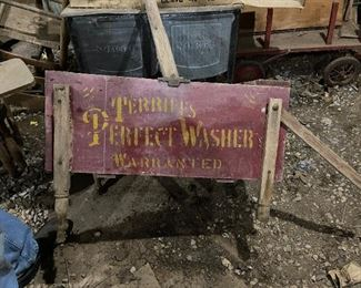 Terries Perfect Washer Primitive