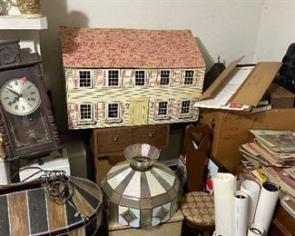 Large Doll House and more lamp shades