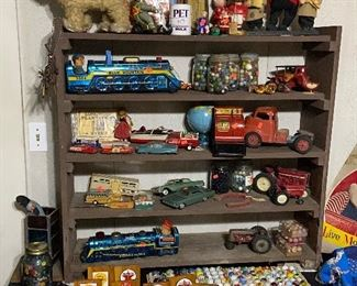 Vintage and Antique toys +marbles