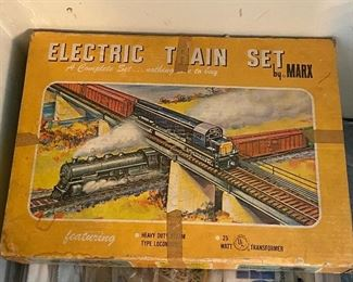 Marx Train Set - Model Train Items, Track, Trains, Parts, HO, O, G, Z, and more.