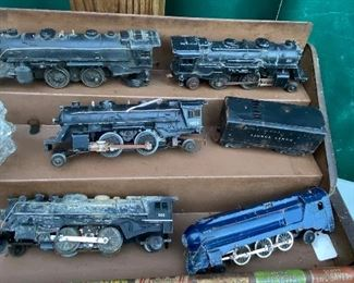 old model train engines