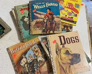 old golden books - good titles