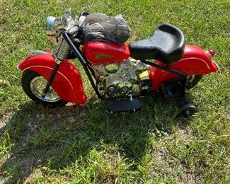 indian motorcycle kids riding toy