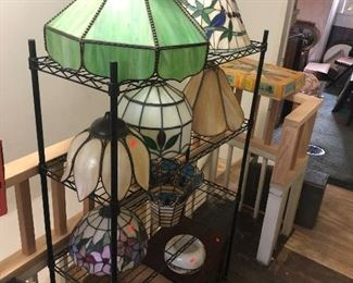 glass lamp shades / domes/ and more