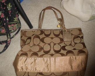 Couch satchel purse