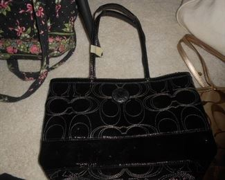 Black Couch satchel purse