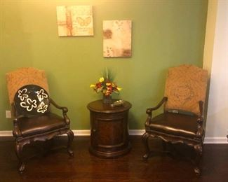 DINING TABLE CAPTAIN CHAIRS.....ROYALTY!!